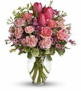 Full Of Love Bouquet Vase arrangement