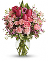 Full of Love Bouquet Vased Arrangement