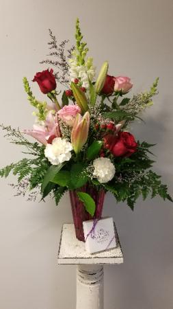Full of Love Vased Cut Flowers