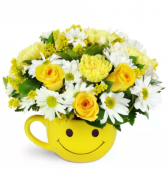 Full of Smiles All-Around Floral arrangement