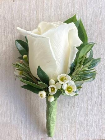 Full Size Rose Boutonniere