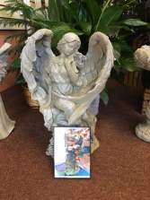 Full Wing Angel Angel Statue