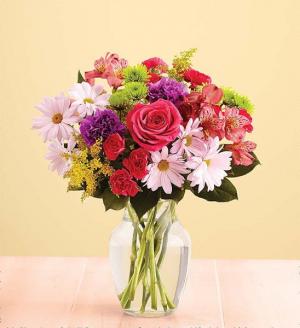 Fun and Flirty Fresh Flower Arrangement in Springfield, MO   FLOWERAMA #226
