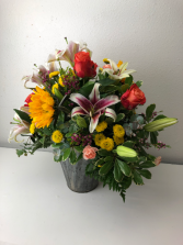 Fun and Sun Summer Container Arrangement