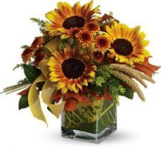 Fun Flowers Vase Arrangement