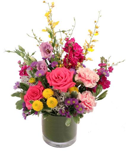 Fun Fuschia Floral Design