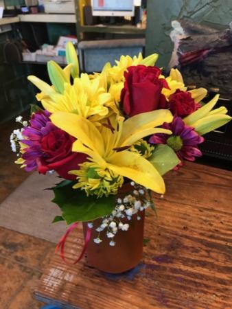 fun in the sun assorted seasonal flowers