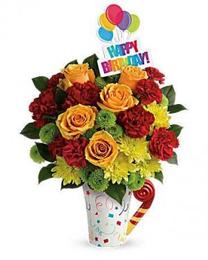 Fun 'n Festive Bouquet Birthday in Punta Gorda, FL | CHARLOTTE COUNTY FLOWERS
