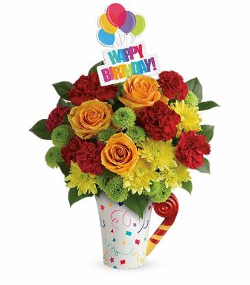 Fun 'n Festive Bouquet Birthday