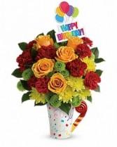 Fun 'n Festive Bouquet Flower Arrangement