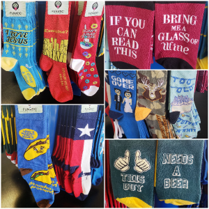Funatic Socks  Mid Calf Socks  in Spring, TX | TOWNE FLOWERS