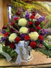 Funeral 1 Funeral basket