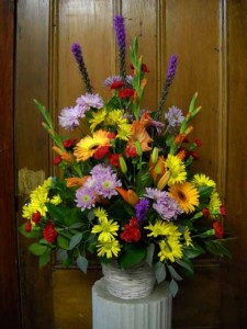 Funeral Basket 3 Funeral Baskets