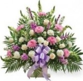FUNERAL BASKET SYMPATHY ARRANGEMENT