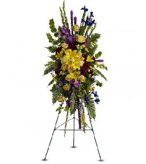 Funeral Flowers Funeral Spray  in Bedford, NH | DIXIELAND FLORIST & GIFT SHOP INC.