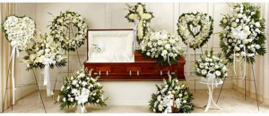 Funeral Flowers Package White  in Sunrise, FL | FLORIST24HRS.COM