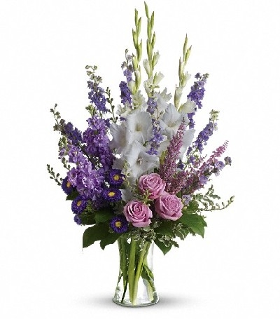Funeral Flowers Vase