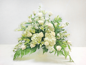 FUNERAL SPRAY WITH ROSES Funeral, Cremation or Memorial in West Palm Beach, FL | FLOWERS TO GO