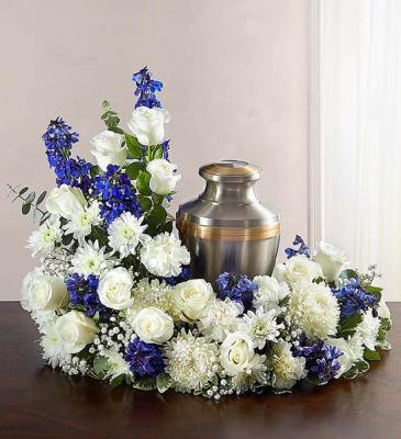Funeral Urn Floral Arrangement
