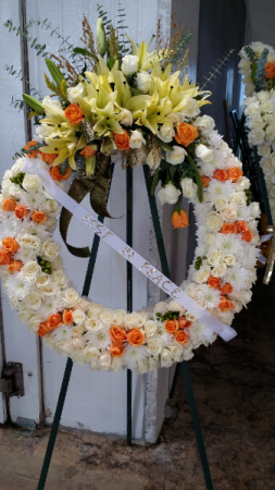 funeral wreath funeral