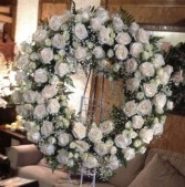 Funeral wreath Life well lived