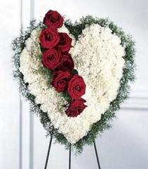The Bleeding Heart Funeral Arrangement