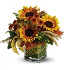 Funflowers floral arrangement