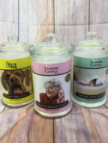Funny candles
