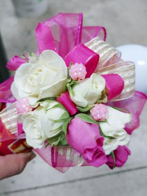 fuschia and white corsage  in Ocala, FL | Artistic Flowers Of Ocala