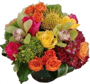 Fall twist Cut Floral Arrangement