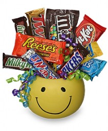 CANDY BOUQUET Gift Basket