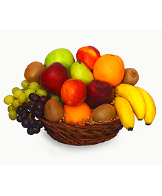 MIXED FRUIT BASKET Gift Basket in Charlotte, NC | GALLERY OF FLOWERS