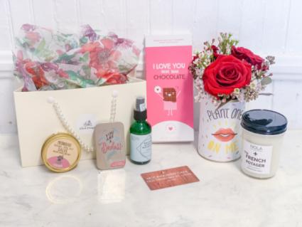 Galentine's Day Gift Bag Gift Basket