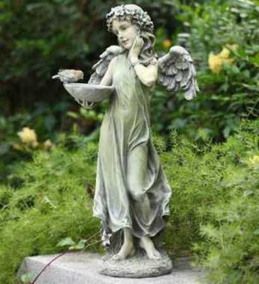 Garden Angel Bird Feeder