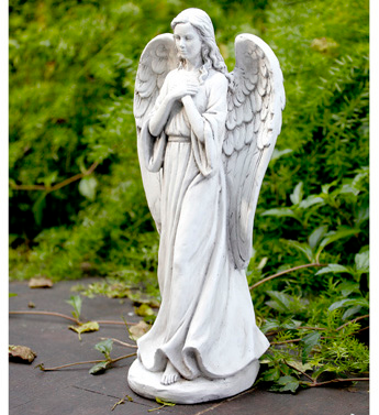 Garden Angel Cement Garden Angel