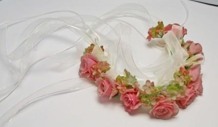 Garden Angel Wedding Hairpiece