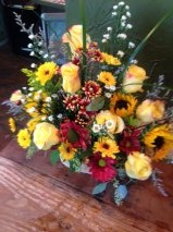 garden arrang. mixed seasonal blend