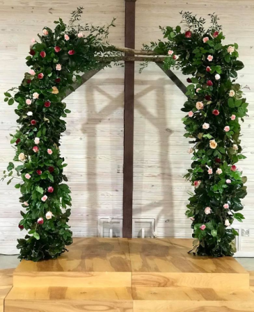 Garden Beauty Wedding Arbor  Wedding Arbor for Ceremony