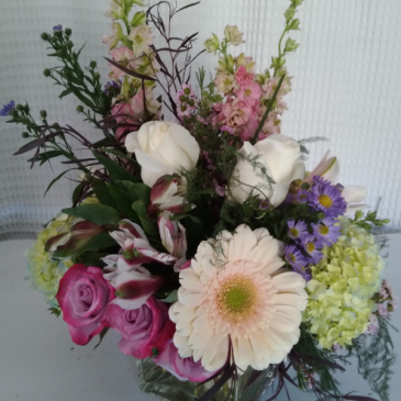 Garden blooms Centerpieces