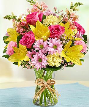 Garden Blooms Floral Arrangement In Monument Co Enchanted Florist