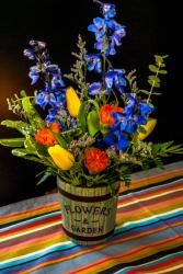 Garden Blooms Fresh Cut Arrangement