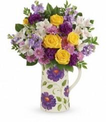 Garden Blossom Bouquet T16M205A By Teleflora