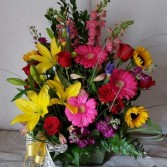 Garden Bounty Fresh arrangement