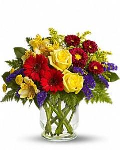 Garden Bouquet Birthday, Baby, love, Get well in Dover, NH | SWEET MEADOWS FLOWER SHOP