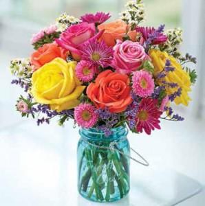 Garden Bouquet  Mixed Arrangment in Mansfield, OH | JANET'S FLORAL DESIGN