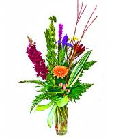 Garden Bouquet Vase Arrangement
