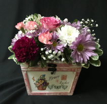 Flower Basket Box