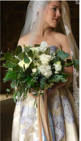 Garden Bridal Bouquet  Wedding