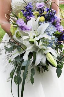 Garden Cascade  Bridal Bouquet