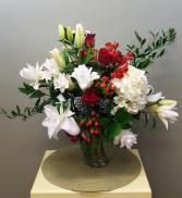 Garden Christmas Bouquet